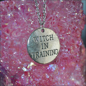 Jewelry - WITCH IN TRAINING NECKLACE